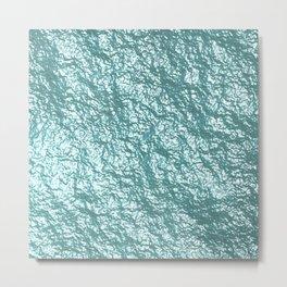 Crumpled Foil 17E Metal Print
