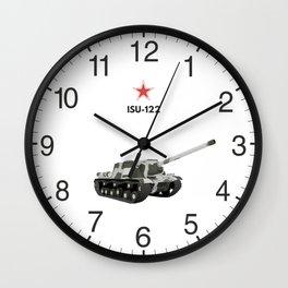 ISU-122 Soviet WW2 Tank Destroyer Wall Clock