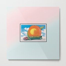 Eat a Peach by The Allman Brothers Band Metal Print