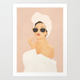 Morning Routine Art Print