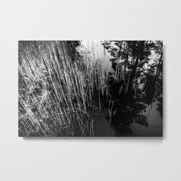 Microcity Metal Print