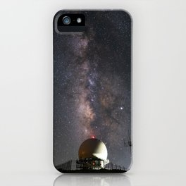 Milky Way over Mount Laguna Observatory 2 iPhone Case