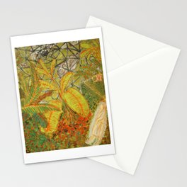 botanic garden Stationery Cards