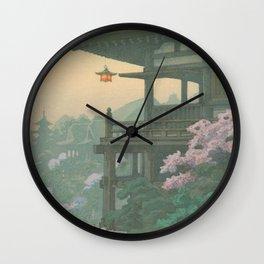 Sakura Bloom in Japan Wall Clock