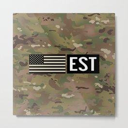 EST Metal Print