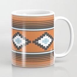 Modern Mexican Serape in Technicolor Coffee Mug
