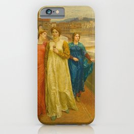 Henry Holiday - Dante And Beatrice iPhone Case