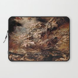 Peter Paul Rubens's The Fall of the Damned Laptop Sleeve