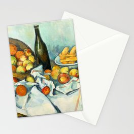 Basket of Apples Painting Paul Cezanne French Impressionism Still Life Painting Home Decor Kitchen Stationery Cards