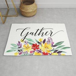 Gather floral Rug