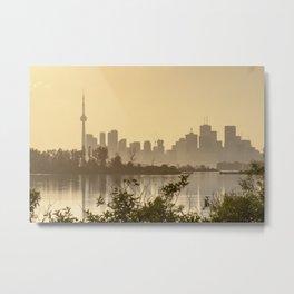 Skyline Toronto Metal Print
