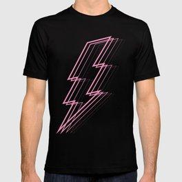 Pink Lightning Bolt T-shirt