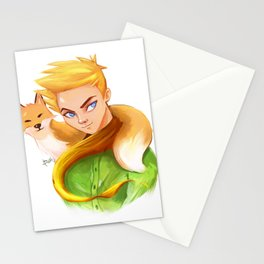 Le petit prince 1 Stationery Cards