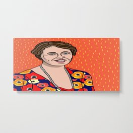 Eleanor Roosevelt Metal Print