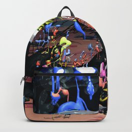 Fly Free B - doodle world Backpack