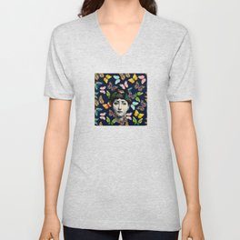 The Butterfly Queen Unisex V-Neck