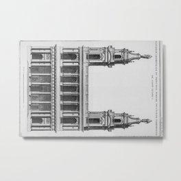 Saint-Sulpice, Grand Portail Metal Print