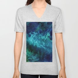 The Art of Nature - Churning in the Chukchi Sea Unisex V-Neck