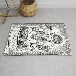Ganesh: Black Rug