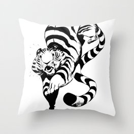 Pounce Throw Pillow