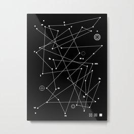 Raumkrankheit Metal Print