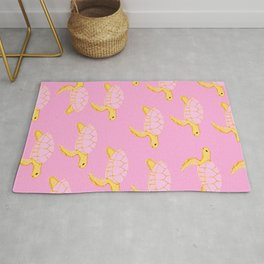 Sea Turtle Pattern Rug