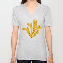 Matisse Inspired Yellow Shape Unisex V-Neck