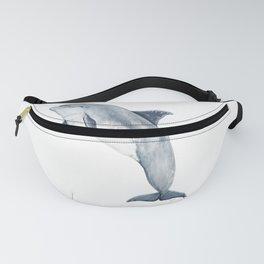 Bottlenose dolphin jump Fanny Pack
