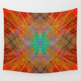 Pineal Rocket Wall Tapestry