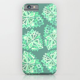 Polygonal zen. iPhone Case