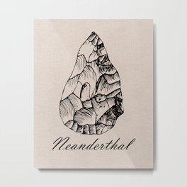Neanderthal Metal Print