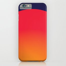 Sunset Coral iPhone Case