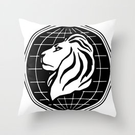 Stratton Oakmont Inc Logo From The Wolf Artwork Of Symbol For Tshirts Prints Posters Bags Men Women Throw Pillow