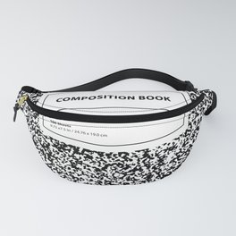 Composition Book Fanny Pack