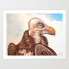 THE BIG BIRD Art Print