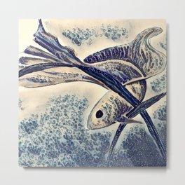 My Little Fish Metal Print