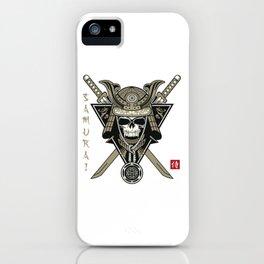 Vampire Samurai iPhone Case