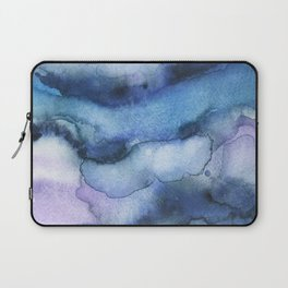Amethyst abstract watercolor Laptop Sleeve