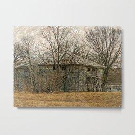 Interesting Barn Structure Metal Print
