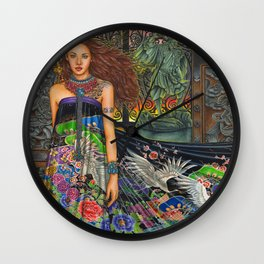 Lament For The Living Wall Clock