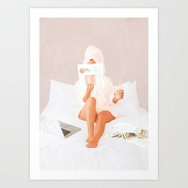 Weekend Morning II Art Print