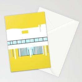 Iconic Houses - Villa Savoye Stationery Cards