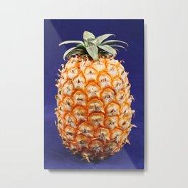 Azores pineapple Metal Print