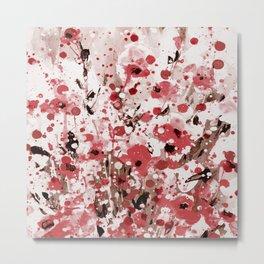 Floral Expression 2l by Kathy Morton Stanion Metal Print