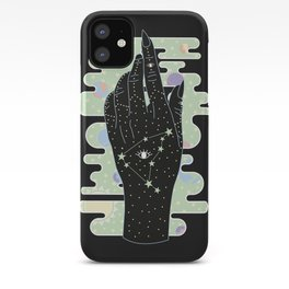 Capricorn - Zodiac Illustration iPhone Case