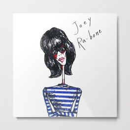 Joey Ra-bone Metal Print