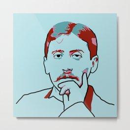 Marcel Proust Metal Print