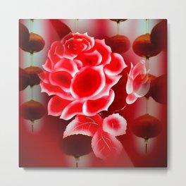 Flowermagic - China art Metal Print