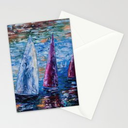Sails To-Night Stationery Cards