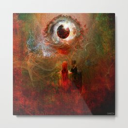 Astral projection Metal Print